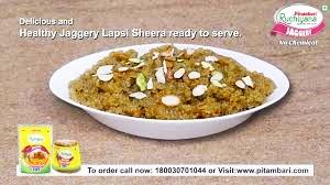 Jaggery Lapsi Sheera
